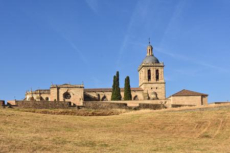 Santa Maria Cathedral, Ciudad Rodrigo, Salamanca province, Spain Stock Photo