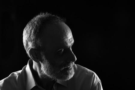 Portrait of a middle aged man Banco de Imagens