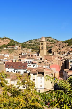 village of  Tamarite de Litera, Huesca province, Aragon, Spain