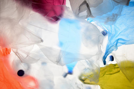 plastic bags and bottles