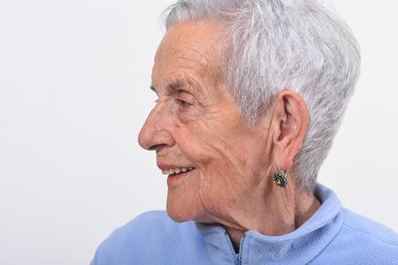 portrait of senior woman Zdjęcie Seryjne - 127457504