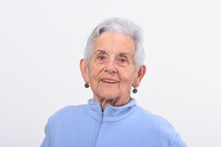 portrait of senior woman