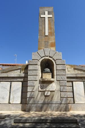 Monument to the fallen by Spain , Ocaña, Castile La Mancha,Spain