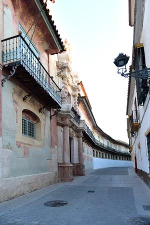 Palace Peñaflor, Ecija, Sevilla province, Andalusia, Spain