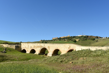 Roman bridge of Carmona, Sevilla province, Andalusia, Spain