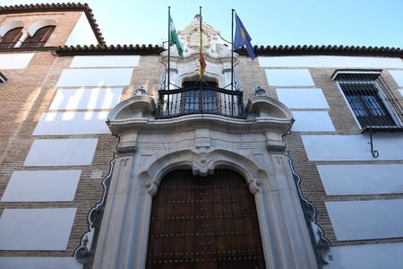 Alcantara Palace, Ecija, Sevilla province, Andalusia, Spain Stock Photo