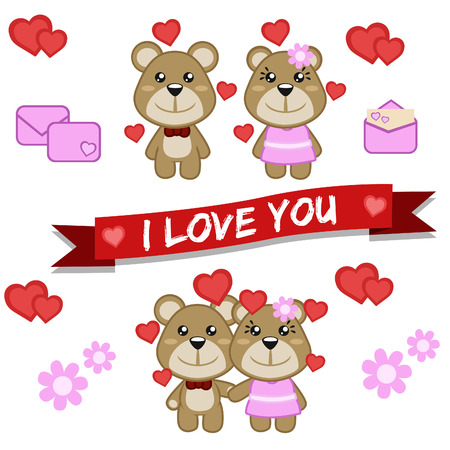 Bear Valentine Collection Pack