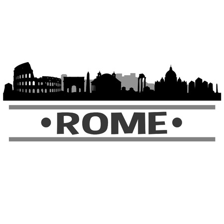 Rome Italy Europe Icon illustration.