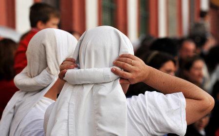 Holy Week in Seville, bearers