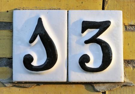 bad luck: Number 13, superstition, bad luck