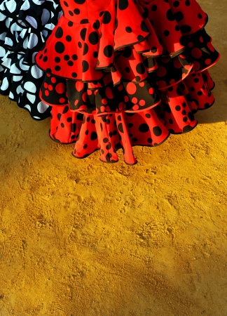 Feria de Sevilla, flamenco dresses