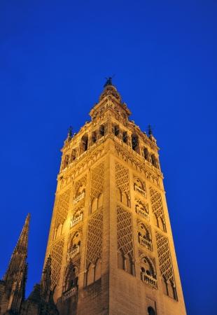 edificación: Giralda de Sevilla, la torre de las campanas