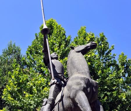 don quichotte: Don Quichotte, Ciudad Real, Espagne Banque d'images