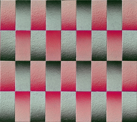 Mosaic tiles with optical effect, magenta and gray Stock Photo - 22983051