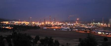 Oil refinery, Puertollano, Spain photo