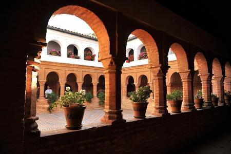 Claustro del Monasterio de la R�bida, Huelva, Espa�a photo