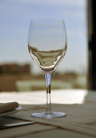 banquet facilities: Wine glass cup