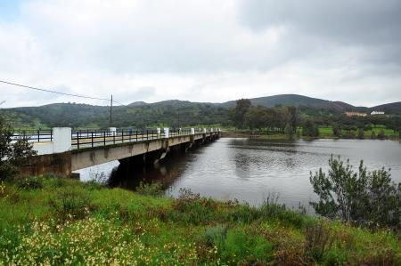 huelva: Reservoir Aracena, province of Huelva, Andalucia, Spain