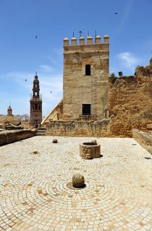 donjon: Alcazar, Donjon, city of Carmona, Seville province