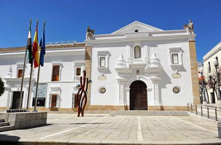 extremadura: Parliament Building, Asamblea de Extremadura, Merida, Extremadura, Spain Editorial