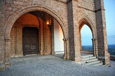 huelva: Prioral Church, Aracena village, Huelva province, Andalucia, Spain