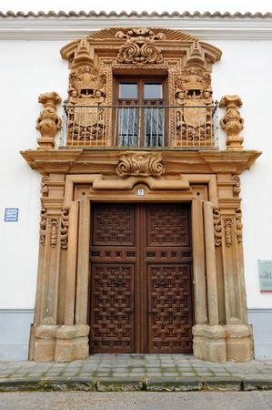 almagro: Condes de Valparaiso Palace, Almagro, province of Ciudad Real, Castilla La Mancha, Spain