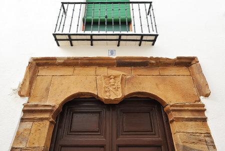 herrenhaus: Herrenhaus, Almagro, in der Provinz Ciudad Real, Kastilien-La Mancha, Spanien