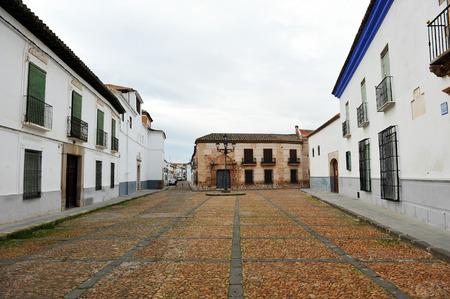almagro: Bernardas street, Almagro, province of Ciudad Real, Castilla La Mancha, Spain