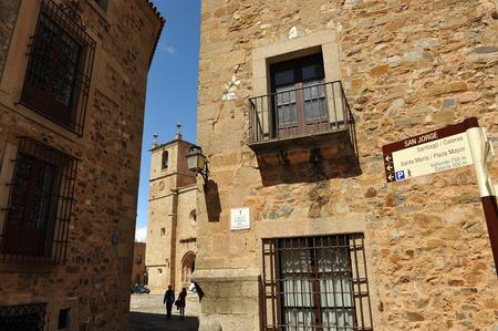 extremadura: Medieval city of Caceres, Extremadura, Spain