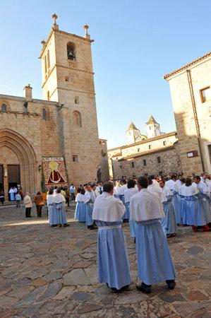 patron: Day of the patron saint of Caceres, Virgen de la Monta�a, Extremadura, Spain Editorial