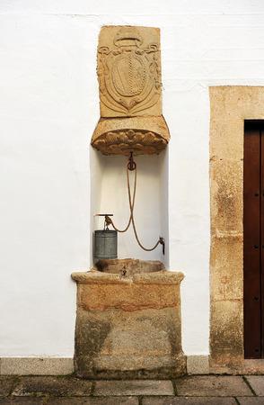 episcopal: Episcopal palace Monumental city of Caceres, Extremadura, Spain