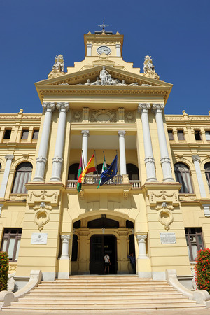 City Hall of Malaga, Andalucia, Spain