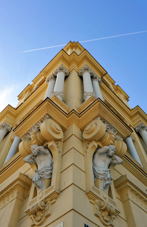 City Council of Malaga, architectural detail, Andalucia, Spain photo