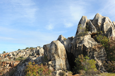 Karst landscape, Cerro del Hierro, Province of Sevilla, Andalusia, Spain photo