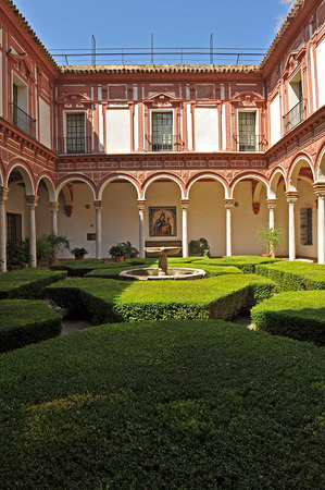 fine arts: Museum of Fine Arts in Seville, Courtyard of the boxwood, Andalusia, Spain