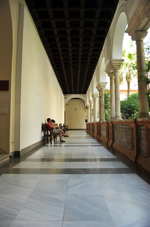 fine arts: Museum of Fine Arts in Seville, cloister, Andalusia, Spain