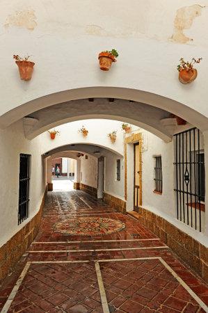 passageway: Croquer passageway, San Fernando, Cadiz Province, Andalusia, Spain