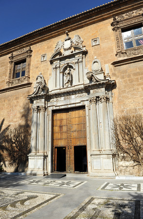 real renaissance: Hospital Real, Renaissance architecture, Granada, Andalucia, Spain