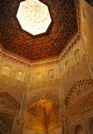 university of granada: Islamic architecture, building Madrasa, Granada, Andalucia, Spain