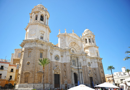 Cath�drale baroque de Cadix, Andalousie, Espagne, Europe photo