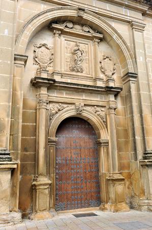 immaculate: La arquitectura del Renacimiento, la Iglesia de la Inmaculada Concepci�n, Baeza, provincia de Ja�n, Andaluc�a, Espa�a Foto de archivo