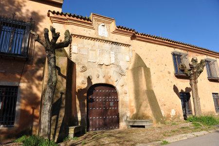 camino: Lastra Palace House, hostel pilgrims on the Camino de Santiago, Torremejia, province of Badajoz, Spain