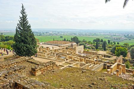 medina: Ruins of the Arab city of Medina Azahara, Cordoba, Andalusia, Spain Stock Photo