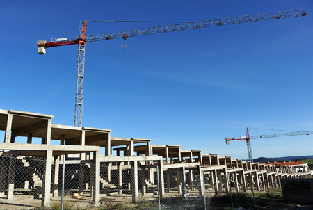 Construction crisis in Spain, Europe, housing bubble, symbol photo