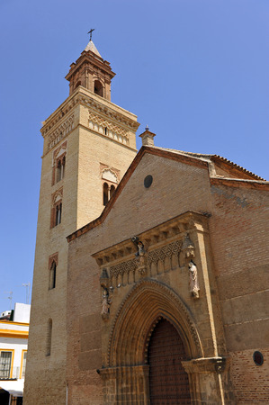 marcos: Mudejar Church of San Marcos, Seville, Andalusi�a, Spain Stock Photo