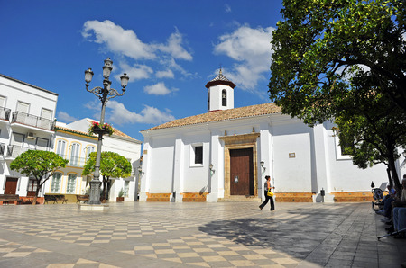 Church of Our Lady of O, Town Hall Square, Ubrique, Cadiz province, Andalusia, Spain