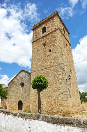 cano: Church of St  Martin of Tours, Aldea del Cano, Caceres province, Extremadura, Spain