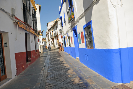 jewish home: Typical streets of the historic center of Cordoba, Andalusia, Spain, Europe