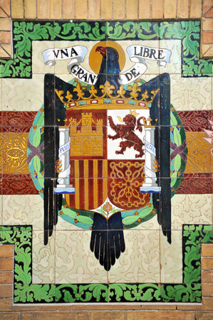 dictatorship: Old coat of spain pre-constitucional