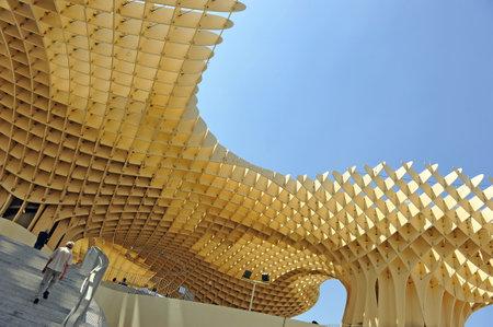 scenical: Metropol Building, Setas, contemporary architecture, Seville,  Andalusia, Spain